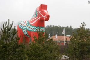 Föregångare? Jättehästen vid Avesta.