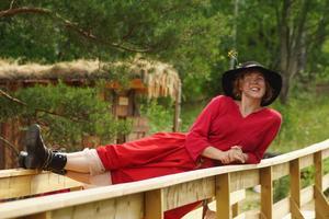 Mira-Maja är en ny karaktär i år som bland annat spelas av Lisen Hertzman.