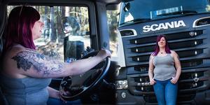 Dragracingen började som en kul grej för att visa upp den nya lastbilen, men nu är Linnea Lahenkorva fast.