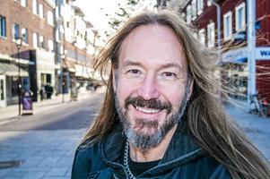 Joacim Cans är känd som sångare i heavy metal-bandet Hammerfall.Foto: Linda Mankefors