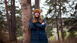 Amanda Daniels - en av dem som fått Stora Enso Fors Bruks stipendium.