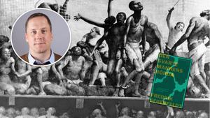 Fredrik Segerfeldt vill anlägga ett annat perspektiv på kolonialism och slaveri än det gängse eurocentrerade. (Bild: Konstnären Robert Riggs porträtterade människornas vidriga förhållanden på ett slavskepp).