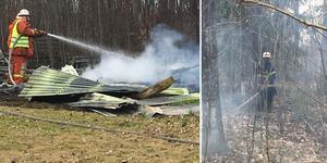 Bilder från den aktuella branden.
