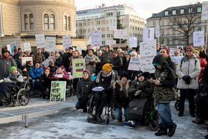 På söndag, den 3 december, hålls manifestationen