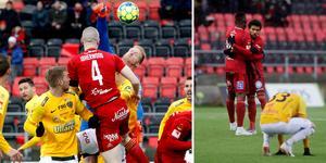 Hampus Nilsson och hans Falkenberg blev utan poäng i Östersund.