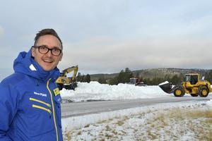 Tommy Halvarsson är marknadschef på Ider Fjäll och kan åter marknadsföra Idre Fjäll som först med skidåkning.