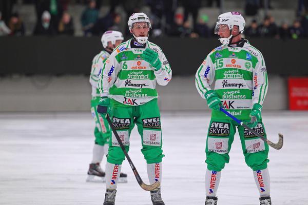 Simon Jansson var glödhet i mötet med Edsbyn.