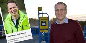 Borlänge Energis Christian Olhans är nominerad i kategorin årets återvinningsinspiratör på  Återvinningsgalan.