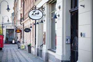 Här på Sjögatan i Stenstan ligger restaurang Zab.