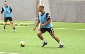 Seth Kanteh Hellberg är en av spelarna som har kommit till Brage och tagit stora kliv under säsongen.