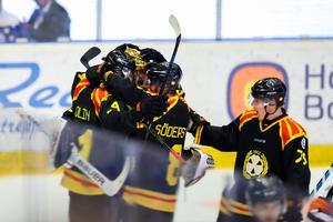 Kramkalas efter två poäng mot Leksand. Bild: Andreas Sandström / BILDBYRÅN