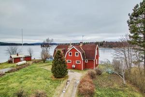 Denna villa i vattnet, i Grangärde, Ludvika kommun, kom på andra plats.Foto: Carina Heed