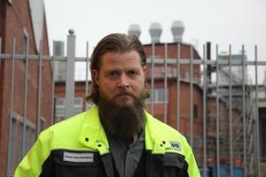 Rickard Lundberg, platschef på Volvo GTO i Skövde.