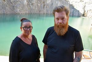 Jill Sand och Mikael Karlsson bokar artister till Dalhalla.