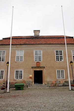 Konsistoriehuset, eller domkapitelhuset, vid Västerås domkyrka.
