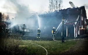 Sex gäster fanns i Lofthuset när det började brinna och alla tog sig ut oskadda. Foto: Peter Ohlsson/DT