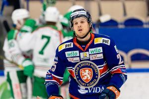 Linus Nässén fick en smakstart på sitt Modo-äventyr. Bild: Jonas Ljungdahl/Bildbyrån