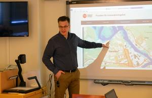 Thomas Carlsson informerade kommunstyrelsen om läget inför den väntade vårfloden.
