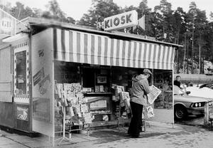 En gammeldags kiosk.