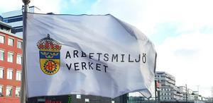 Arbetsmiljöverket flaggar för att ett byggföretag i Östersund ska betala drygt 60 000 kronor. Foto: Pressbild