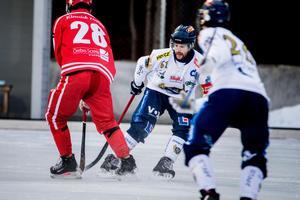 Patrik Allanson-Roos hyllade sina lagkamrater efter matchen.