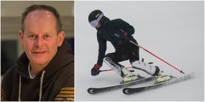 """Skidtränaren och tidigare landslagsåkaren Fredrik Nyberg har coachat Alvin Guteland Beiming sedan många år. Nu ser han stora framsteg för 16-åringen efter första terminen på skidgymnasium. """"Det är kul att se att när han nu tog steget och valde alpint, så ser man direkt ett lyft. Han har tagit ett steg bara från förra året"""", säger Nyberg."""