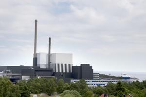 Ett av Sveriges tre kärnkraftverk ligger utanför Oskarshamn. Foto: Adam Ihse/TT