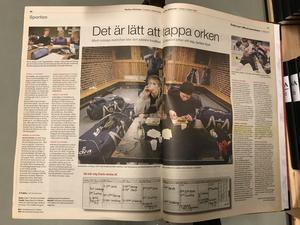 NA:s reportage om Calle Gunnarsson den 31 oktober 2003.