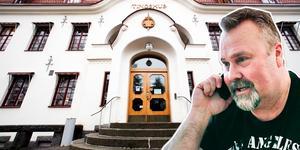 Bosse Hedin var i Hudiksvalls tingsrätt på onsdagen.