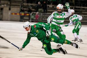 Bilden är från den här säsongen, men senast VSK och Hammarby möttes i kvartsfinal var 2012. Dags igen, tycker Christoffer Million.