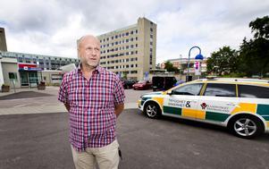 Hans Löhman är säkerhetsansvarig vid Region Västmanland. Foto: Rune Jensen