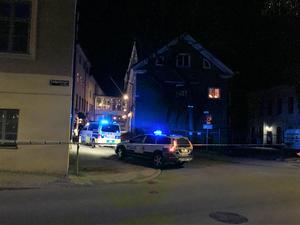 I mars blev en man skjuten av polis i centrala Örebro.
