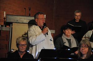 Ulf Wedin, ärkeängeln Gabriel och duktig solist. Foto: Kenth Wiklund