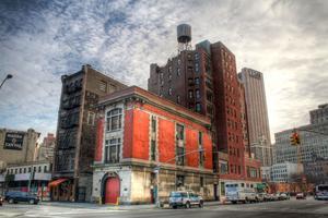 Brandstationen i New York som blir spökjägarnas bas i