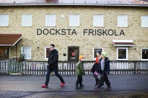Vardagen på skolan i Docksta har inte ändrats mycket sedan den blev friskola.