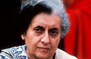 Indira Gandhi.Bild: TT