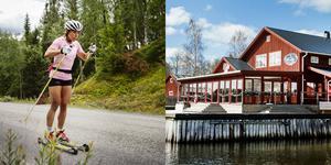 En tur på rullskidorna blev ett härligt minne för Kalla. Bild: Erik Simander/TT & Therese Hassleryd.