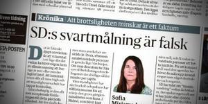 Insändarskribenten Eythor Hilmarsson anser att det finns faktafel i Sofia Mirjamsdotters krönika som publicerades i FP den 11 december 2016.