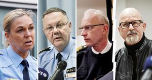Annika Laestadius, Bo Andersson och Dan Persson får skarp kritik av Peter Springare. Arkivfoto: NA/TT