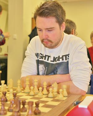 Jesper Rhodin vann marsblixten i Hammerdal. Foto: Bo Wik.