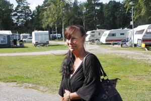 Annika Ragnarsson såg hela räddningsinsatsen från campingens restaurang.