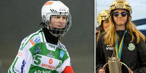 Malin Persson är årets damspelare i svensk bandy.