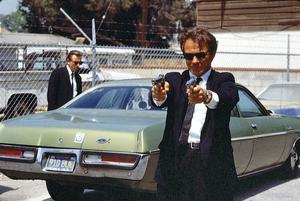 Scen i Quentin Tarantinos banbrytande debutfilm