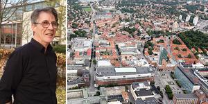 Terrence Fell på Mälardalens högskola har studerat bostadssegregation i Västerås och Eskilstuna i många år.