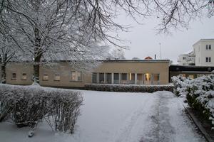 Här i annexet kommer familjecentralen vara som har öppet på förmiddagar tisdagar och torsdagar.