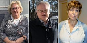 Lena Asplund (M), Glenn Nordlund (S) och Ingeborg Wiksten (L) omnämns i Robert Thunfors insändare.