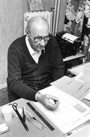 Folke Kihl, chefredaktör på NP på 1960-talet, frågade om Göte Larsén