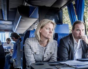 Det ekonomisk-politiska området har präglats av en betydande passivitet från finansminister Magdalena Andersson (S) och statsminister StefanLöfven (S).