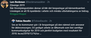 Skärmdump Twitter, 16 december