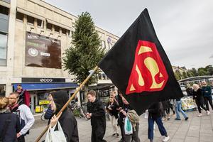 Runt 200 nya studenter intog Örebro på fredagseftermiddagen.
